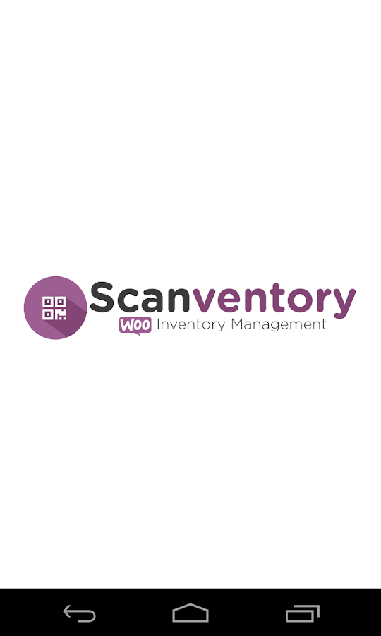 Scanventory- screenshot