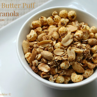Peanut Butter Puff Granola