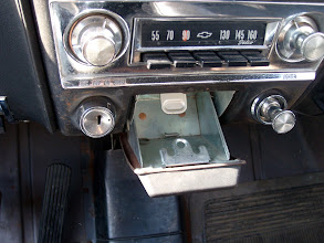 Photo: 1966 Corsa, cleanest 41 year old ashtray I've ever seen!
