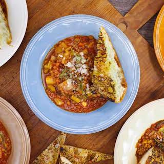 Tomato-Lentil Soup.