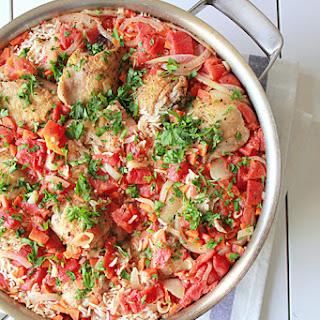 One Pot Chicken Paella Recipe