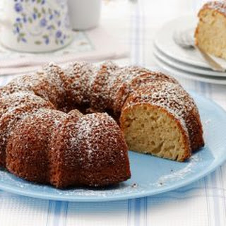 Passion Fruit, Vanilla and Coconut Cake.