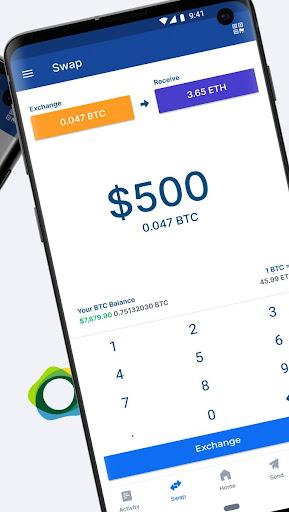 Blockchain Wallet. Bitcoin, Bitcoin Cash, Ethereum screenshots 5