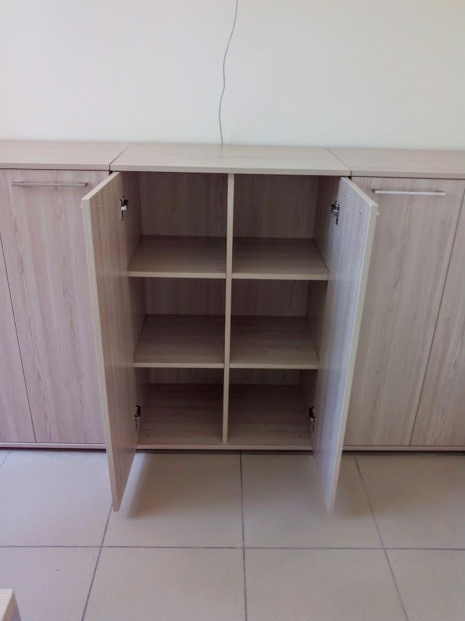 Низкий офисный шкаф - Модульная офисная мебель, Металлические каркасы столов, Мебельные опоры ✆ 0679245444