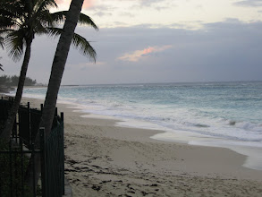 Photo: Yoga Retreat, Bahamas - waves on beach