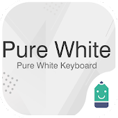 Pure White Theme&Emoji Keyboard Android APK Download Free By Best Keyboard Theme Design