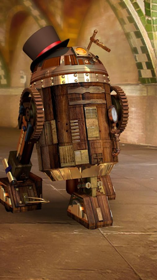 R3 steampunk star droid live wallpaper android apps on google play - Droid live wallpaper ...