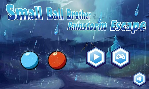 Small Ball Rainstorm Escape - náhled