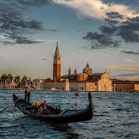 San Marco by Aamir DreamPix - Buildings & Architecture Public & Historical ( gondola, europe, riverside, san marco, rivers, italy, river,  )