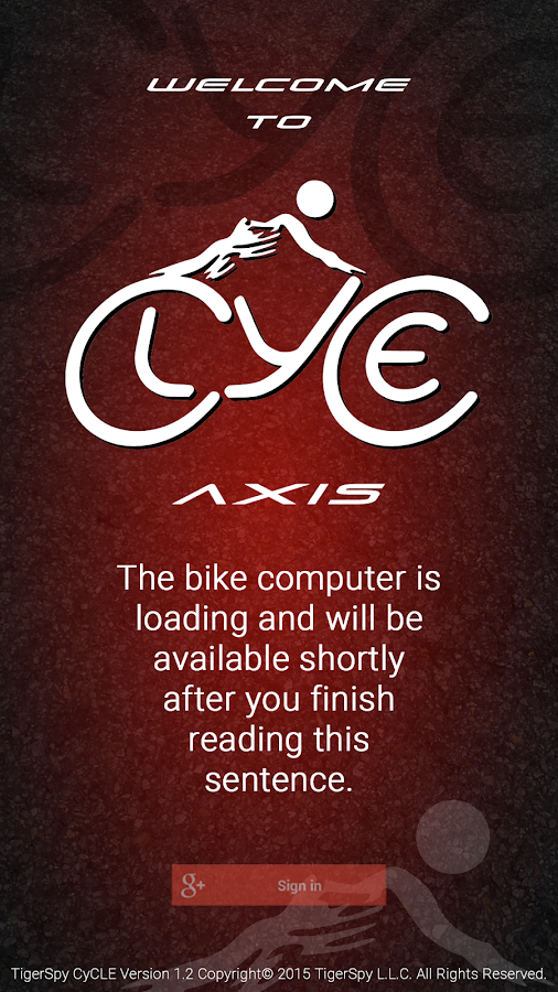CyCLE AXIS — GPS Bike Computer- screenshot