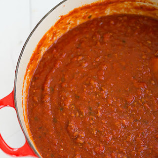 My Father-in-law's Legendary Meat Sauce