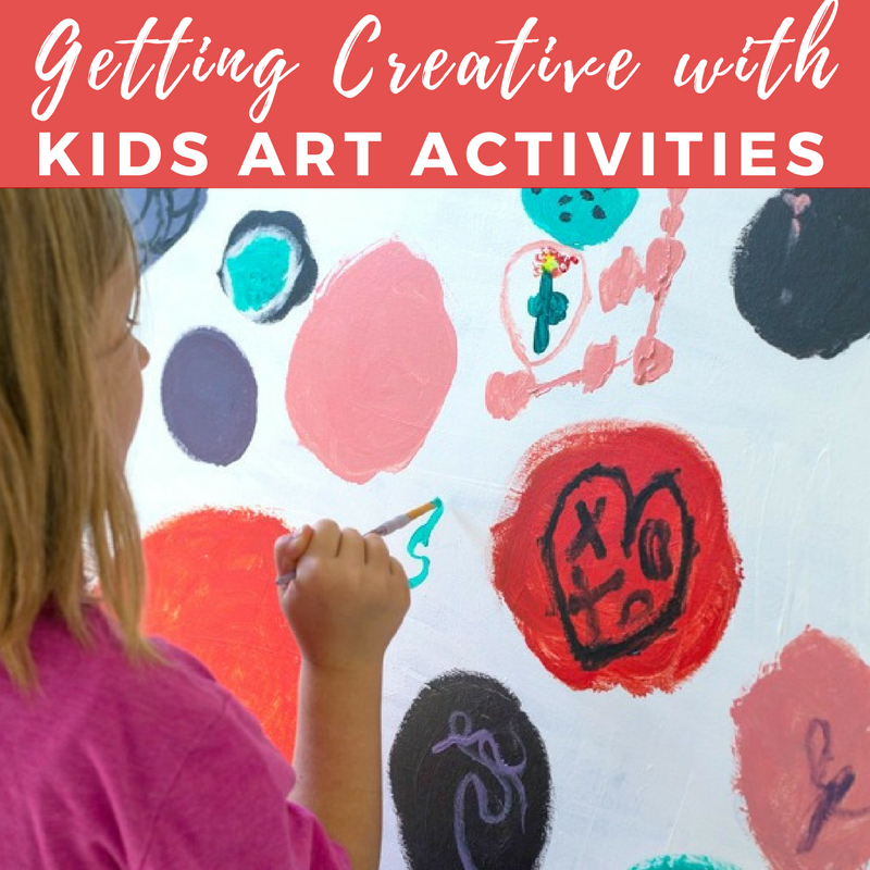 Getting Creative with Kids Art Activities - An Online Course
