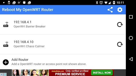 Download Reboot My OpenWRT Router For PC Windows and Mac apk screenshot 8