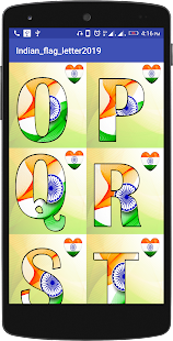 Download INDIAN FLAG LETTER For PC Windows and Mac apk screenshot 2