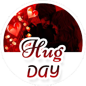 Hug Day 2018 Wishes Greetings & Stickers