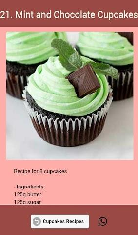 android Cupcakes Recipes Screenshot 23