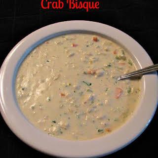 Crab Bisque.