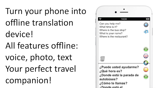 Offline Translator: 8 Languages Offline Translate Screenshot