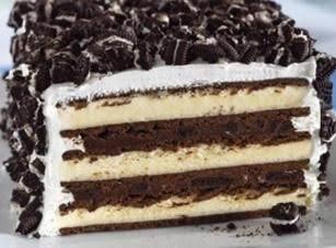 No-bake Oreo Ice Cream cake