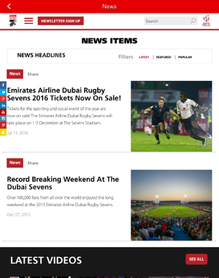 Emirates Airline Dubai Rugby7s- screenshot