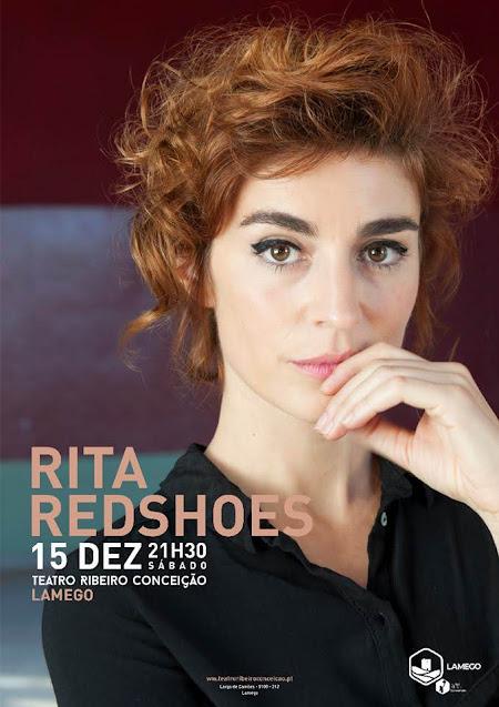 Digressão nacional de Rita Redshoes vem ao Teatro Ribeiro Conceição