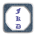 BlueDenim Icons-Most Launchers icon