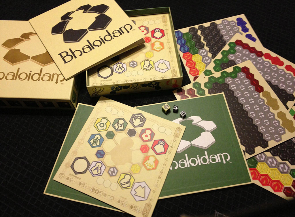 Image of Bhaloidam's Game Boards & Tokens