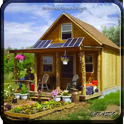木制住宅设计 生活 App LOGO-硬是要APP