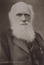 Photo: Charles Darwin in 1881, from a postcard. Photographer: Herbert Rose Barraud. Copyright of image: G. W. Beccaloni