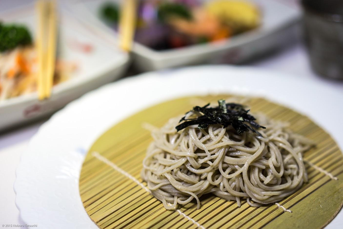 しっかりとしたコシのある細麺