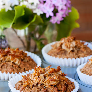 Banana Muffins with Anzac Crunch