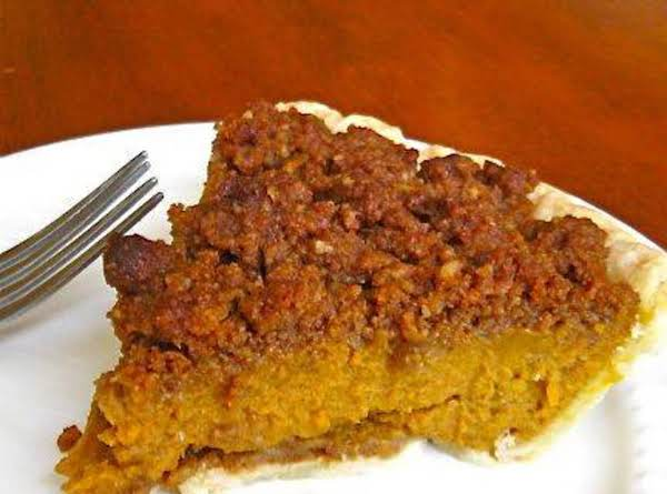 Pumpkin Crunch Pie
