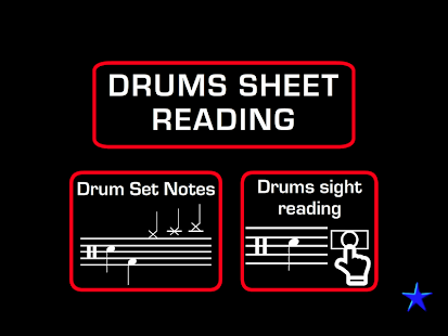 Drums Sheet Reading PRO Screenshot