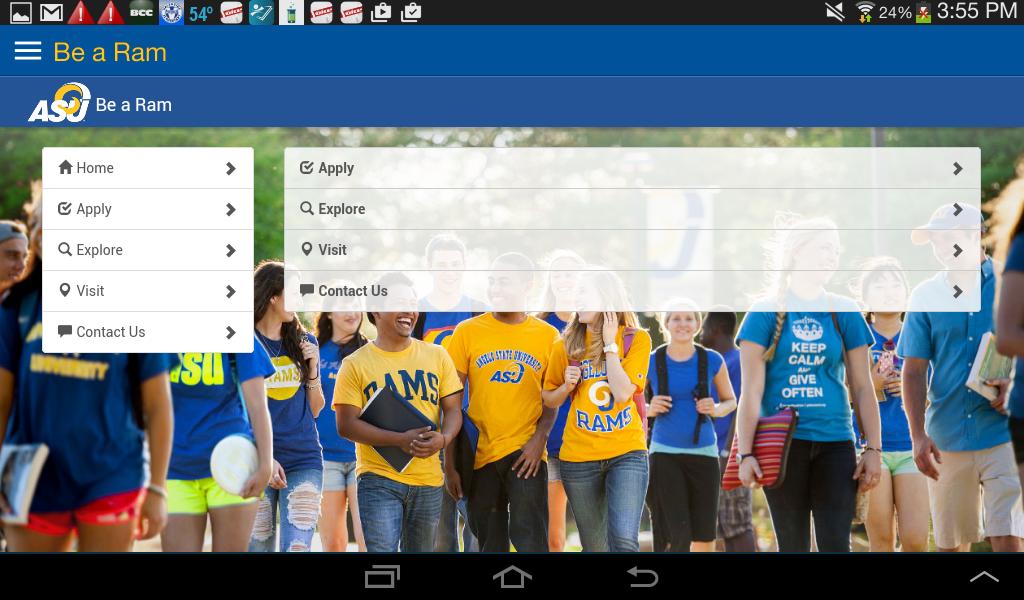 ASU Mobile- screenshot
