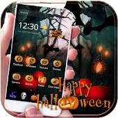 Happy Halloween Theme Scary Night