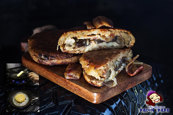 "Bacon & Gorgonzola ""grilled"" Cheese Recipe"