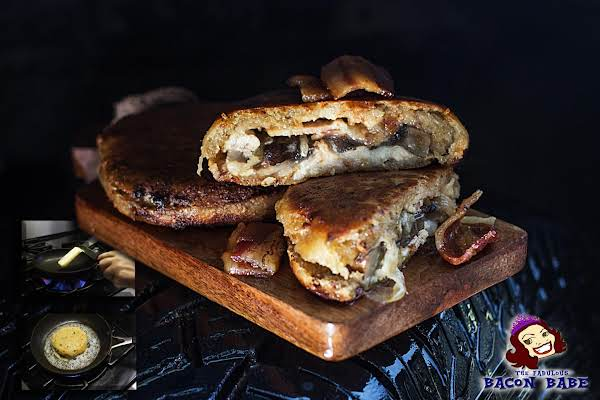 "Bacon & Gorgonzola ""grilled"" Cheese"