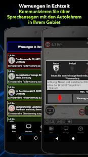 Radarbot Gratis Blitzer Radarwarner und Tachometer Screenshot