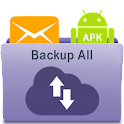 All Backup : SMS, APK, Contact icon