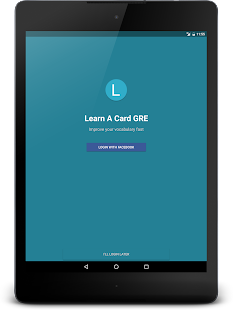 Learn A Card - GRE Flashcards screenshot