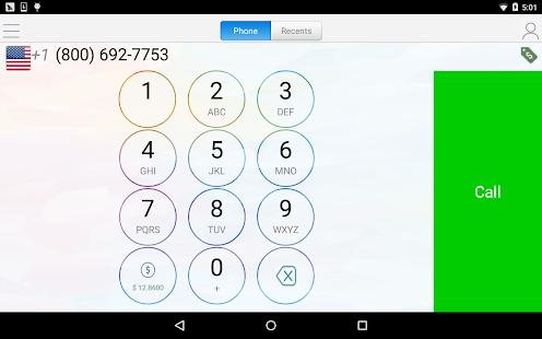 WePhone – free phone calls & cheap calls 12