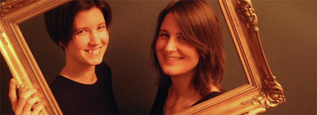 Katharina Litschauer (Klavier, Gesang) und Nina Bauernfeind (Gesang)