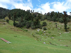 Photo: Bugiyal on way to Dhakuri
