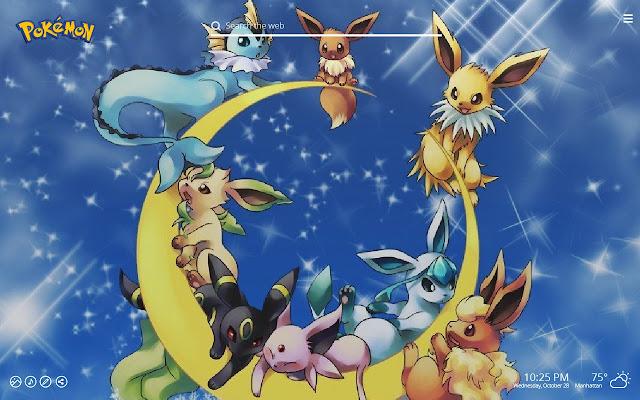 Pokemon New Tab Wallpaper
