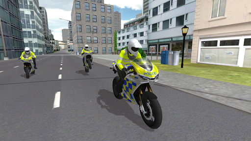 Police Motorbike Simulator 3D  screenshots 5