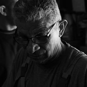 Portrait by Berkan Felek - Black & White Portraits & People (  )