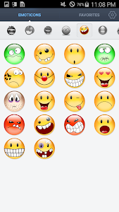 Face Emoticons Stickers screenshot 2