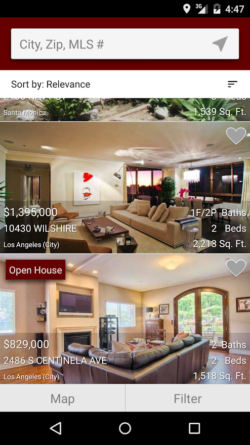 Jane Smith Real Estate- screenshot