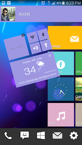 Win Theme Smart Launcher screenshot 14