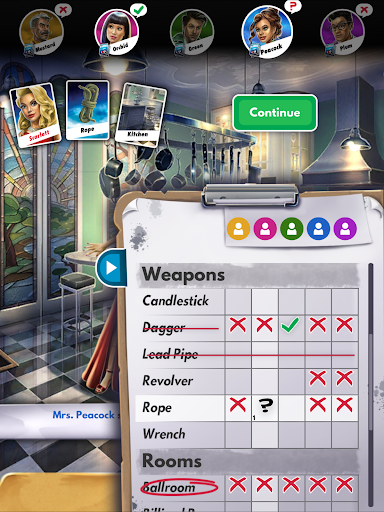 Clue - screenshot